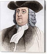 William Penn, English Coloniser Canvas Print