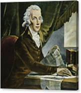 William Pitt (1759-1806) Canvas Print