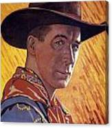 William Surrey Hart Canvas Print
