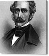 William T. G. Morton, American Dentist Canvas Print