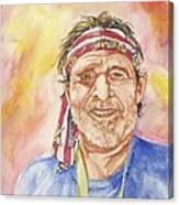 Willie Wanna-be Canvas Print