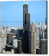 Willis Sears Tower 01 Chicago Canvas Print