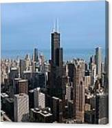 Willis Sears Tower 03 Chicago Canvas Print