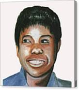 Wilma Rudolph Canvas Print