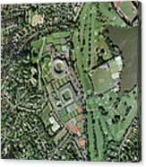 Wimbledon Tennis Complex, Uk Canvas Print