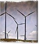 Wind Farm IIi - Impressions Canvas Print