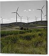 Wind Farm Iv Canvas Print