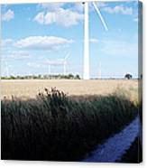 Wind Farm - Skaane Canvas Print
