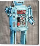 Wind-up Robot 2 Canvas Print