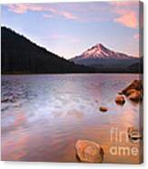 Windkissed Reflection Canvas Print