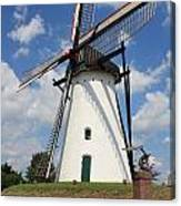 Windmill And Blue Sky Canvas Print
