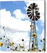 Windmill Dabble 2a Canvas Print