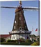 Windmill Danish Style 1 A Canvas Print