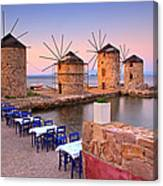 Windmills 2  Canvas Print