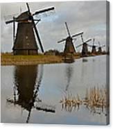 Windmills Canvas Print