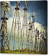 Windmills Of My Mind Canvas Print