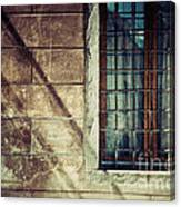 Window And Long Shadows Canvas Print