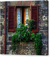 Window Assisi Canvas Print