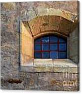 Window Detail At Carmel Canvas Print