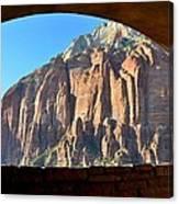 Window Into Zion Canvas Print