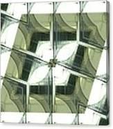 Window Mathematical 2 Canvas Print