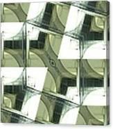 Window Mathematical  Canvas Print