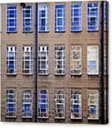 Window Matrix Canvas Print