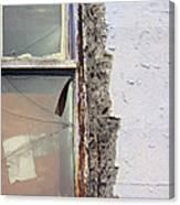 Window Pain  Canvas Print