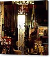 Window Shopping The China Store Canvas Print