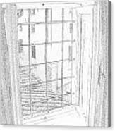 Window To History Canvas Print
