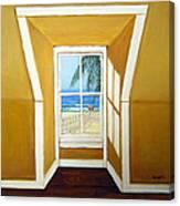 Window To The Sea No. 3 Canvas Print