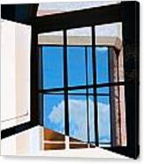 Window Treatment Canvas Print