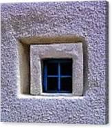 Windows Of Taos Canvas Print