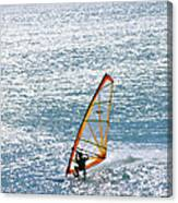 Windsurfer, Baja, Mexico Canvas Print