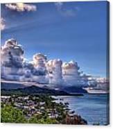 Windward Clouds Canvas Print