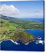 Windward Maui Aerial II Canvas Print