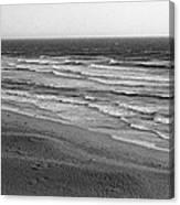Windy Surf Canvas Print