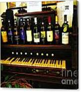 Wine And Song  Canvas Print