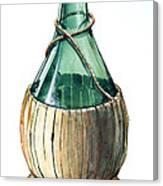 Wine Bottle Canvas Print