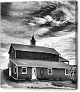 Wine Country Barn Canvas Print