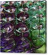 Wine Goblets Canvas Print