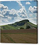 Wine Hills Of Germany Canvas Print
