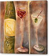 Wine Or Martini? Canvas Print