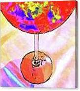 Wine Perpective Canvas Print