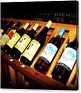 Wine Rack Canvas Print