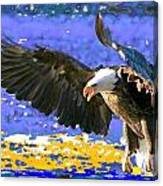 Wings On High Canvas Print