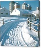 Winter, Ct Canvas Print