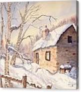 Winter Escape Canvas Print