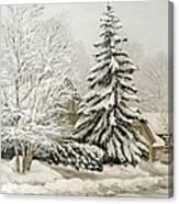 Winter Fairytale Canvas Print