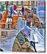 Winter Fest Artist Canvas Print